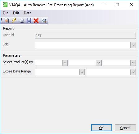 pre-processing report